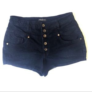 Streetwear Society High Waist Jean Shorts size 11